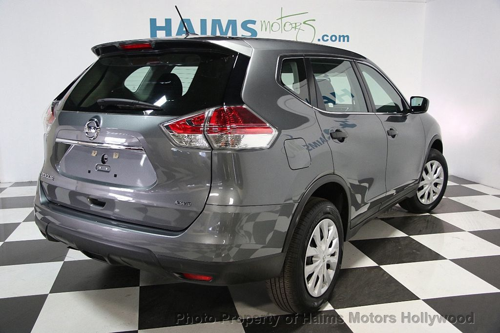 2016 used nissan rogue awd 4dr s at haims motors hollywood serving fort lauderdale hollywood. Black Bedroom Furniture Sets. Home Design Ideas
