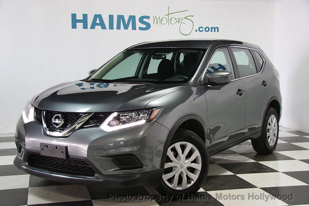 2016 Used Nissan Rogue Awd 4dr S At Haims Motors Hollywood