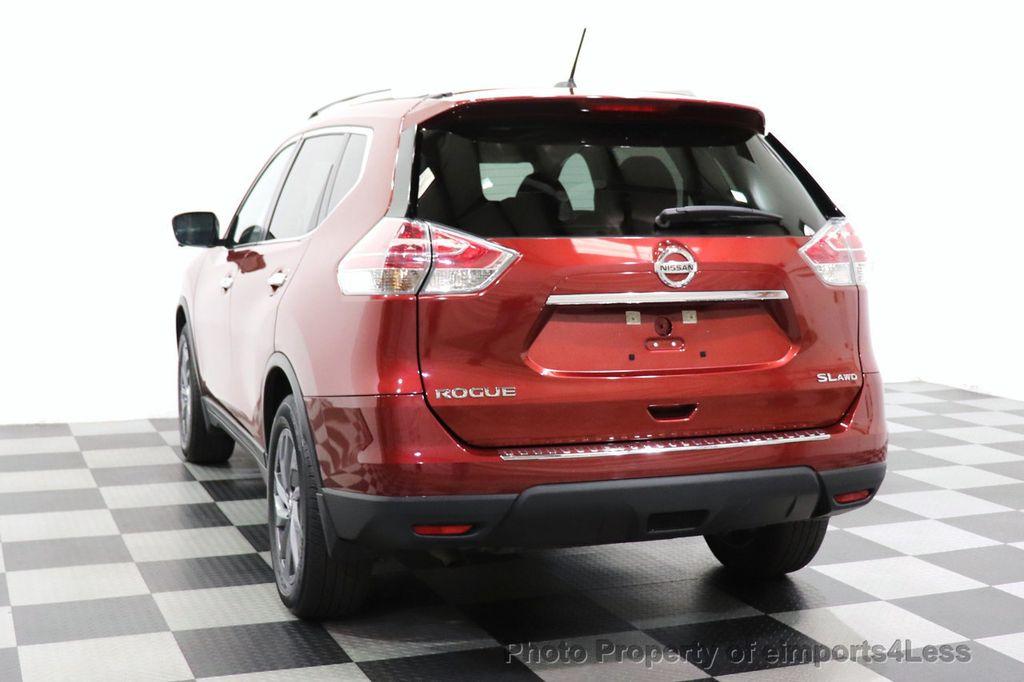 2016 Nissan Rogue CERTIFIED ROGUE SL AWD NAV CAM BLIS BOSE PANO - 18561287 - 15