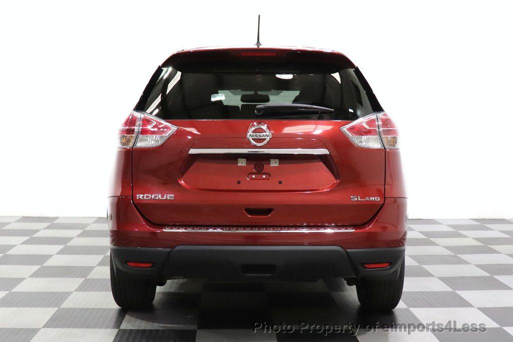 2016 Nissan Rogue CERTIFIED ROGUE SL AWD NAV CAM BLIS BOSE PANO - 18561287 - 16