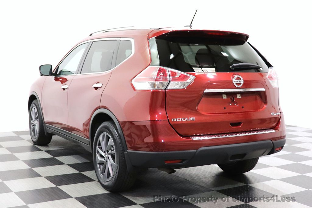 2016 Nissan Rogue CERTIFIED ROGUE SL AWD NAV CAM BLIS BOSE PANO - 18561287 - 2