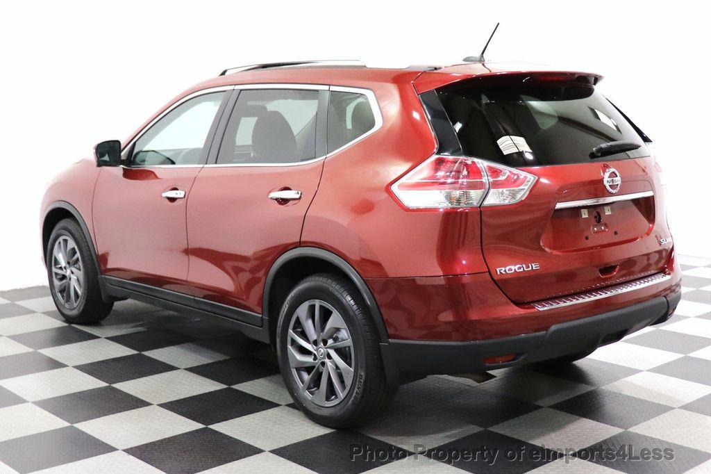 2016 Nissan Rogue CERTIFIED ROGUE SL AWD NAV CAM BLIS BOSE PANO - 18561287 - 29