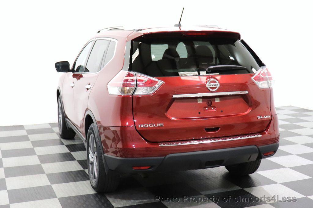 2016 Nissan Rogue CERTIFIED ROGUE SL AWD NAV CAM BLIS BOSE PANO - 18561287 - 46