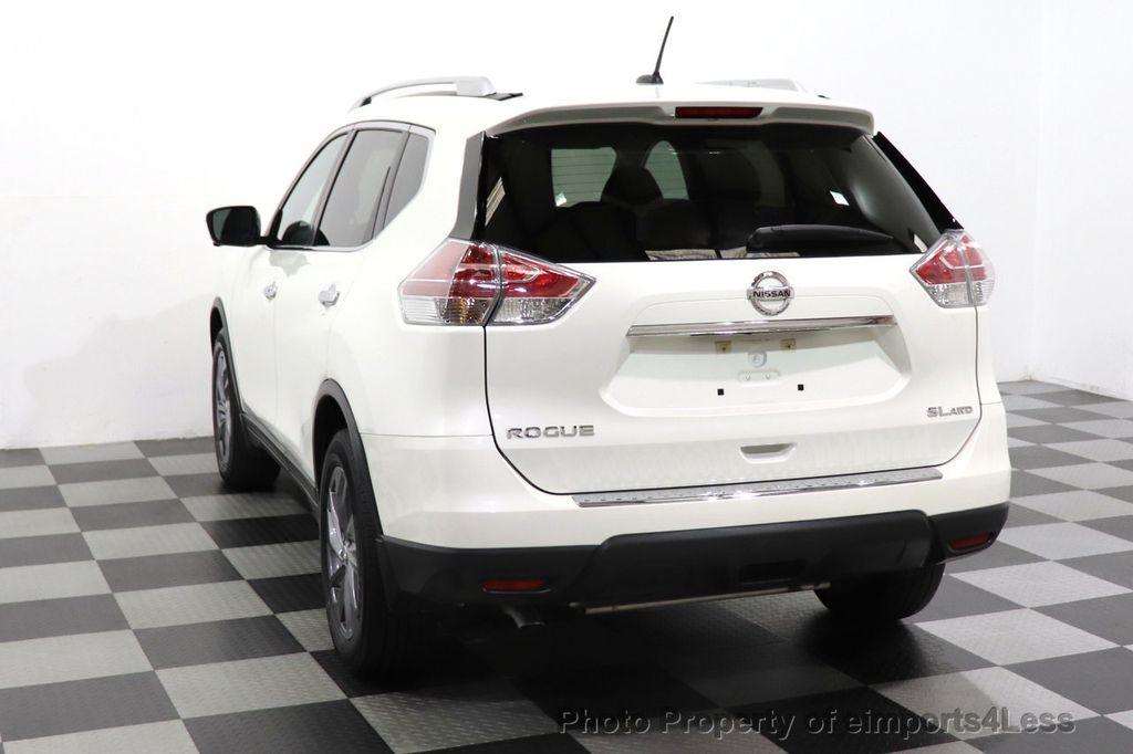 2016 Nissan Rogue CERTIFIED ROGUE SL AWD SUV NAV CAM - 18561272 - 45
