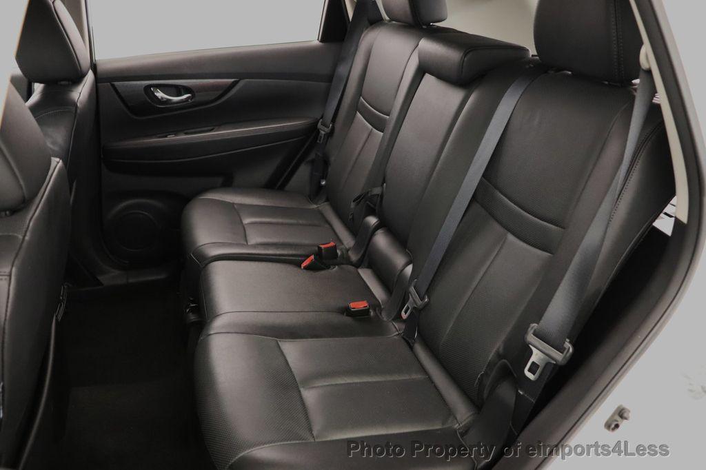 2016 Nissan Rogue CERTIFIED ROGUE SL AWD SUV NAV CAM - 18561272 - 49