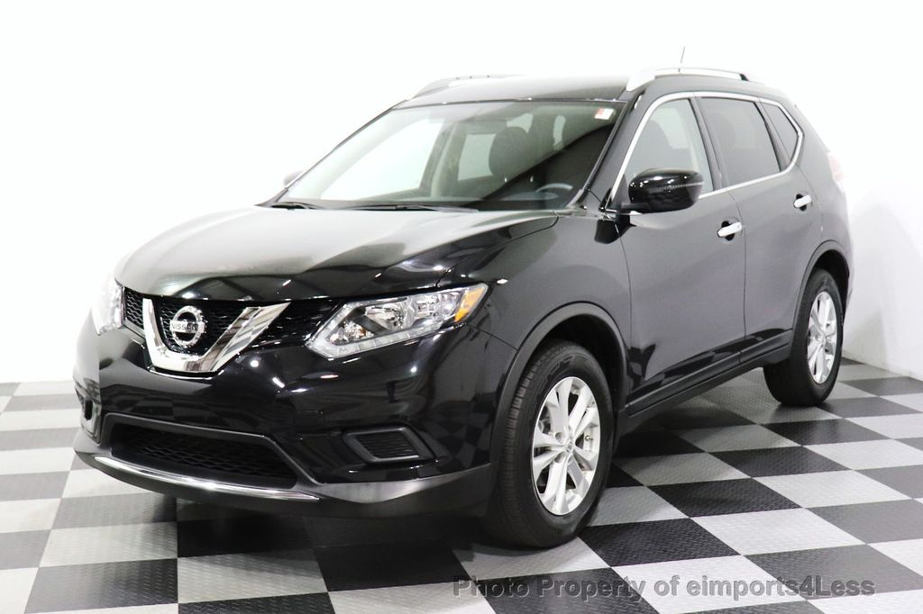 2016 Nissan Rogue CERTIFIED ROGUE SV AWD CAM BLUETOOTH - 18561275 - 0