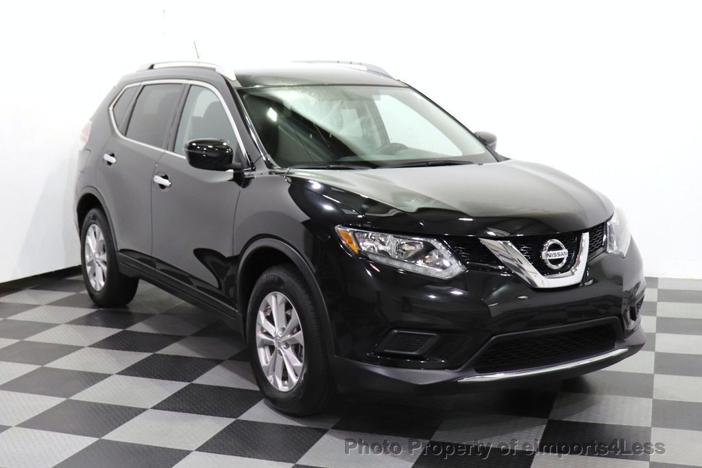 2016 Nissan Rogue CERTIFIED ROGUE SV AWD CAM BLUETOOTH - 18561275 - 1