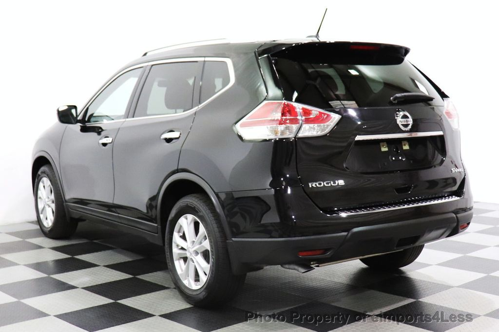 2016 Nissan Rogue CERTIFIED ROGUE SV AWD CAM BLUETOOTH - 18561275 - 52