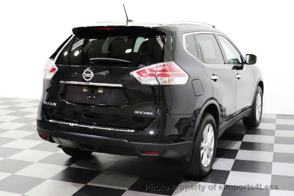 2016 Nissan Rogue CERTIFIED ROGUE SV AWD CAM BLUETOOTH - 18561275 - 53