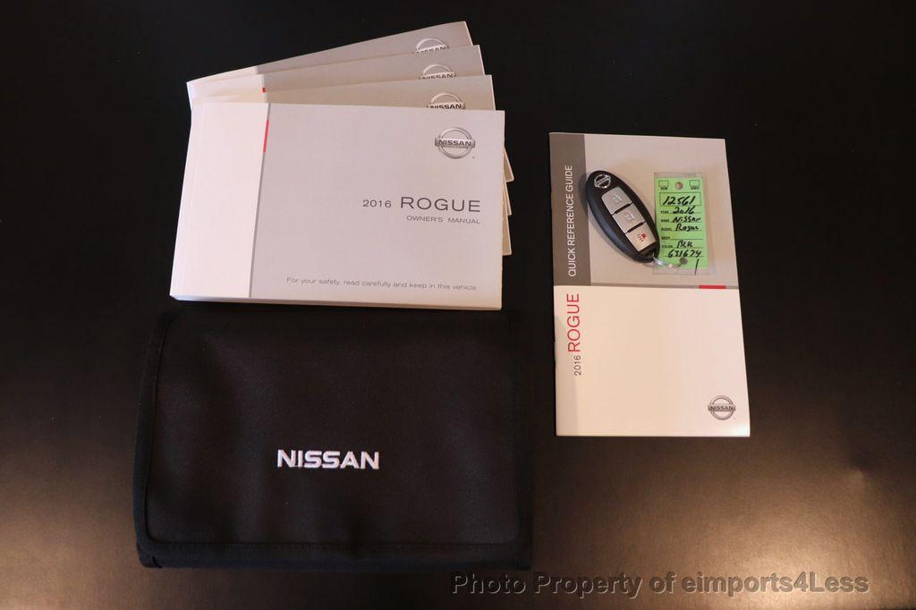 2016 Nissan Rogue CERTIFIED ROGUE SV AWD CAM KEYLESS - 18561278 - 39