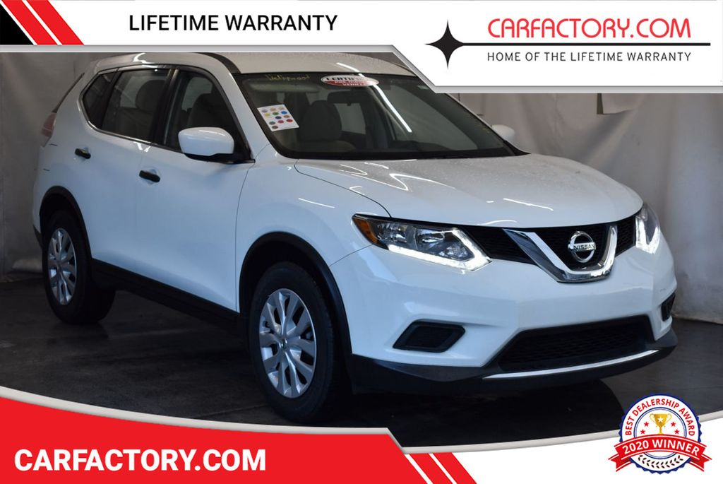 2016 Nissan Rogue FWD 4dr S - 17965862 - 0