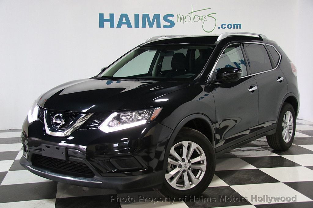 2016 used nissan rogue fwd 4dr sv at haims motors serving fort lauderdale hollywood miami fl. Black Bedroom Furniture Sets. Home Design Ideas