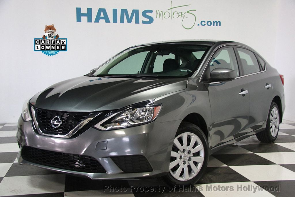 2016 used nissan sentra 4dr sedan i4 cvt sv at haims motors serving fort lauderdale hollywood. Black Bedroom Furniture Sets. Home Design Ideas