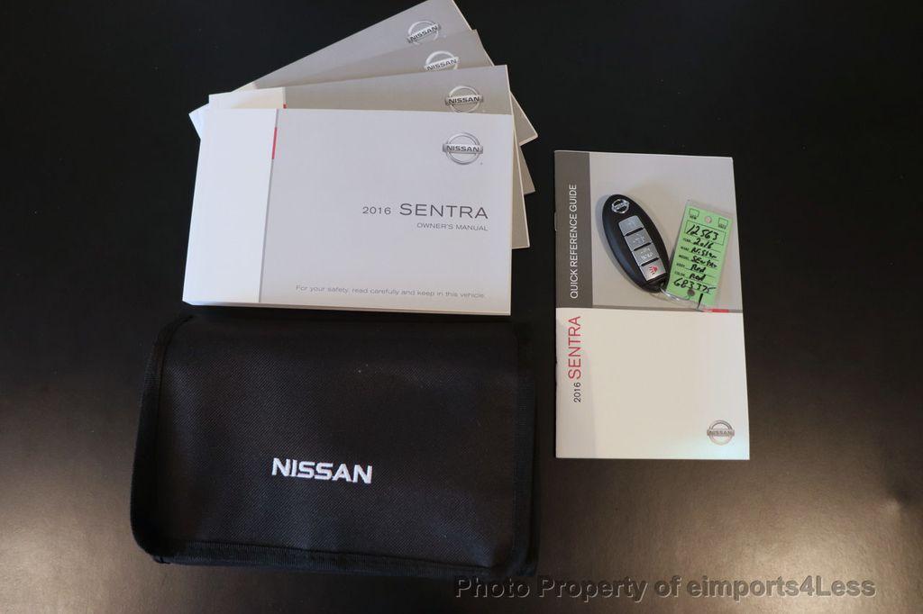 2016 Nissan Sentra CERTIFIED SENTRA SV CAM KEYLESS BLUETOOTH - 18561281 - 39