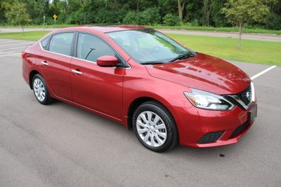 2016 Nissan Sentra ONE OWNER S WITH  MOONROOF, NEW TIRES Sedan