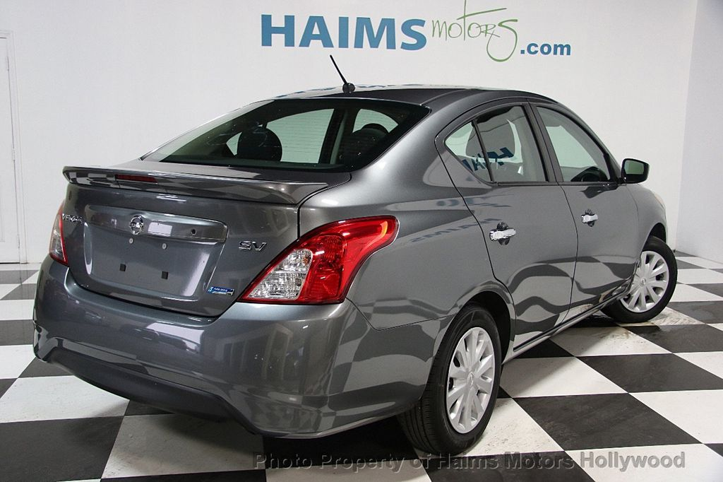 2016 used nissan versa 4dr sedan cvt 1 6 sv at haims motors serving fort lauderdale hollywood. Black Bedroom Furniture Sets. Home Design Ideas