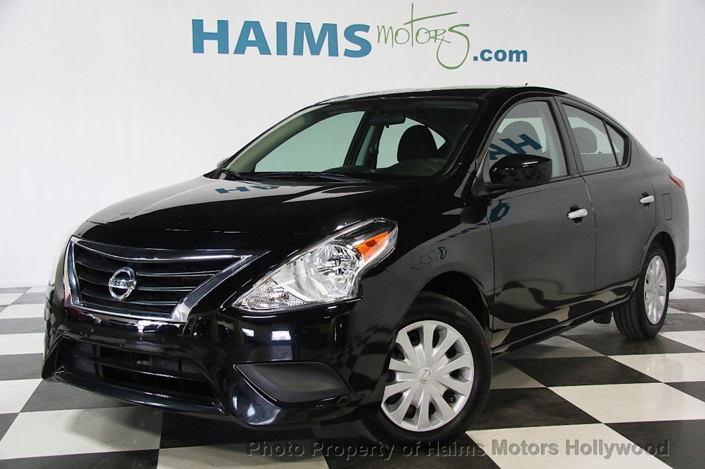 2016 used nissan versa 4dr sedan cvt 1 6 sv at haims motors ft lauderdale serving lauderdale. Black Bedroom Furniture Sets. Home Design Ideas