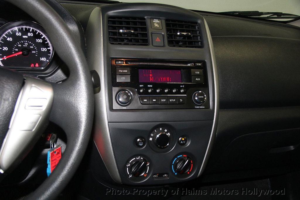 2016 Nissan Versa 4dr Sedan CVT 1.6 SV - 17275027 - 20