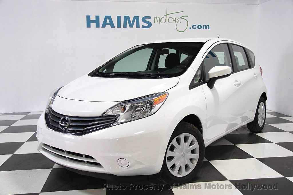 2016 used nissan versa note 5dr hatchback cvt 1 6 sv at haims motors serving fort lauderdale. Black Bedroom Furniture Sets. Home Design Ideas