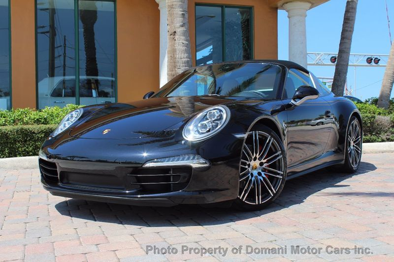 2016 Porsche 911 RARE TARGA 4S! LOADED SPECIAL ORDER CAR w/$152,015 STICKER PRICE - 16867473 - 4