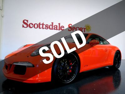 2016 Porsche 911 CARRERA GTS ONLY 2,239 MILES * SPECIAL ORDER LAVA ORANGE w GIANT MFG OPTIONS
