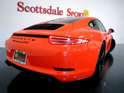 2016 Porsche 911 CARRERA GTS ONLY 2,239 MILES * SPECIAL ORDER LAVA ORANGE w GIANT MFG OPTIONS - Click to see full-size photo viewer
