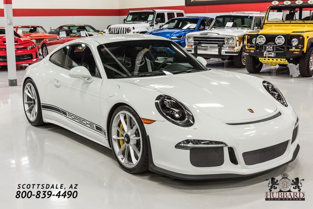 2016 Porsche 911R Single-Mass Flywheel, Factory No Stripe, Lots of CXX Options! - Click to see full-size photo viewer