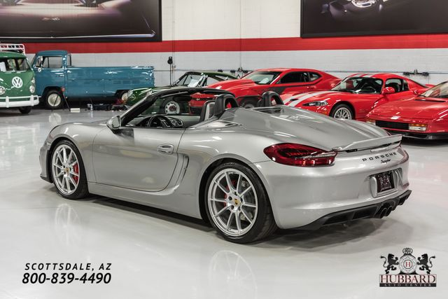 2016 Porsche Boxster Spyder  - Click to see full-size photo viewer