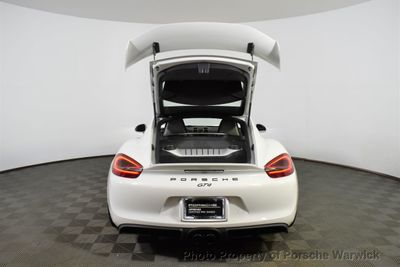 2016 Porsche Cayman 2dr GT4 Coupe - Click to see full-size photo viewer