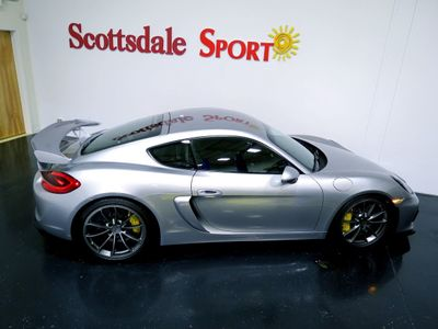 2016 Porsche CAYMAN GT4 * ONLY 5K Miles...Ceramic Brakes! - Click to see full-size photo viewer