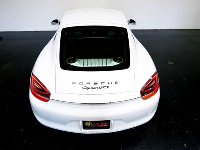 2016 Porsche CAYMAN GTS * ONLY 12K Miles...6sp Manual - Click to see full-size photo viewer
