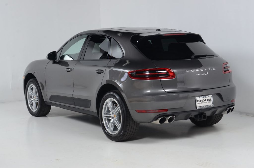 2016 Porsche Macan S Premium Pkg-Bose Sound-Navigation-Power Lift Gate-Rear Vision - 17768142 - 9