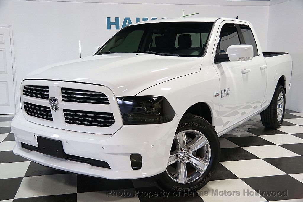 "2016 Used Ram 1500 4WD Crew Cab 140 5"" Sport at Haims Motors Serving"