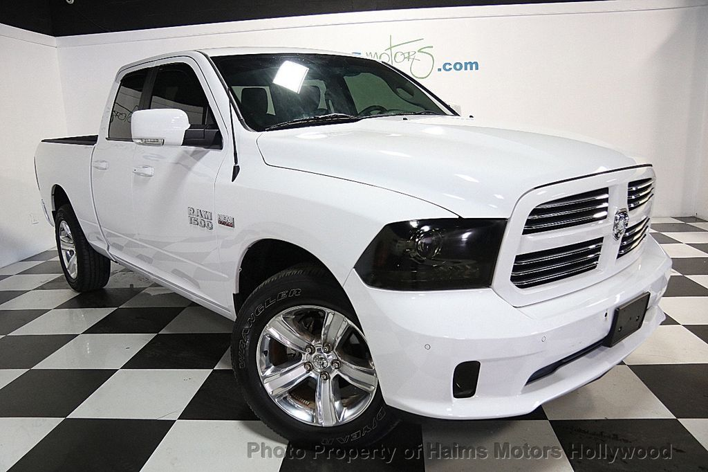 "2016 Used Ram 1500 4WD Crew Cab 140.5"" Sport at Haims Motors Serving Fort Lauderdale, Hollywood ..."