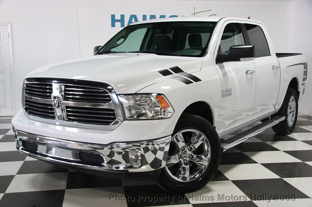 2016 used ram 1500 4wd crew cab 149 big horn at haims motors ft lauderdale serving lauderdale. Black Bedroom Furniture Sets. Home Design Ideas
