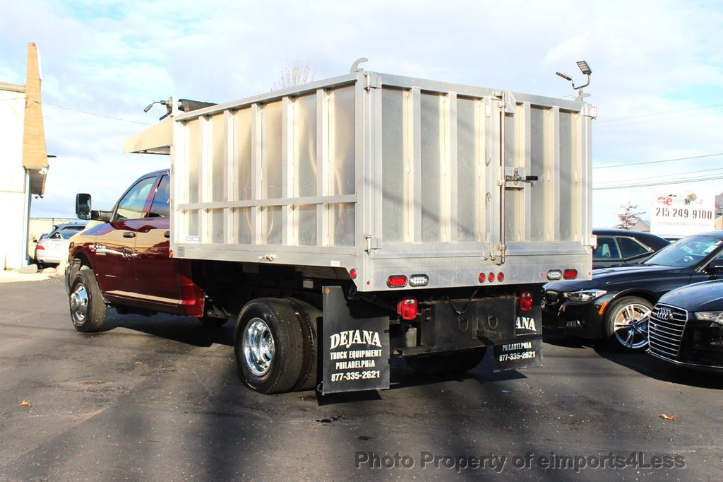 2016 Ram 3500 Crew Dump Body CERTIFIED RAM 3500 TRADESMAN HEMI 4X4 CREW CAB DUMP BED DUALLY - 18302571 - 15