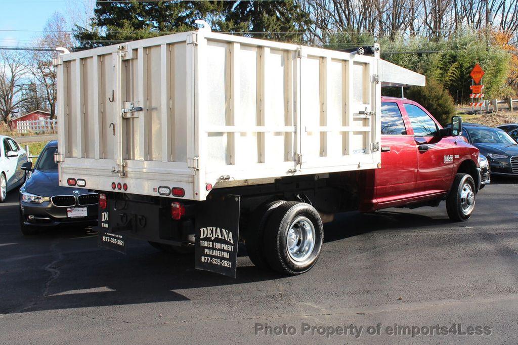 2016 Ram 3500 Crew Dump Body CERTIFIED RAM 3500 TRADESMAN HEMI 4X4 CREW CAB DUMP BED DUALLY - 18302571 - 38