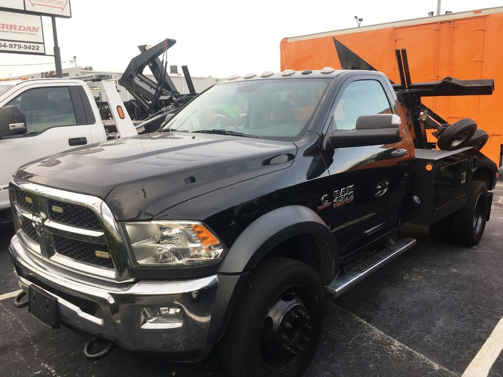 2016 Ram 4500 VULCAN WRECKER TOW TRUCK. 810 INTRUDER AUTO SELF LOADER - 18332215 - 1