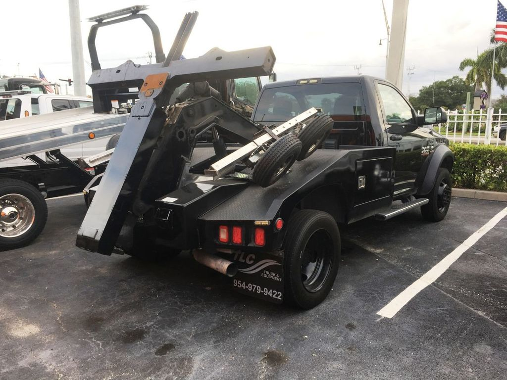 2016 Ram 4500 VULCAN WRECKER TOW TRUCK. 810 INTRUDER AUTO SELF LOADER - 18332215 - 3