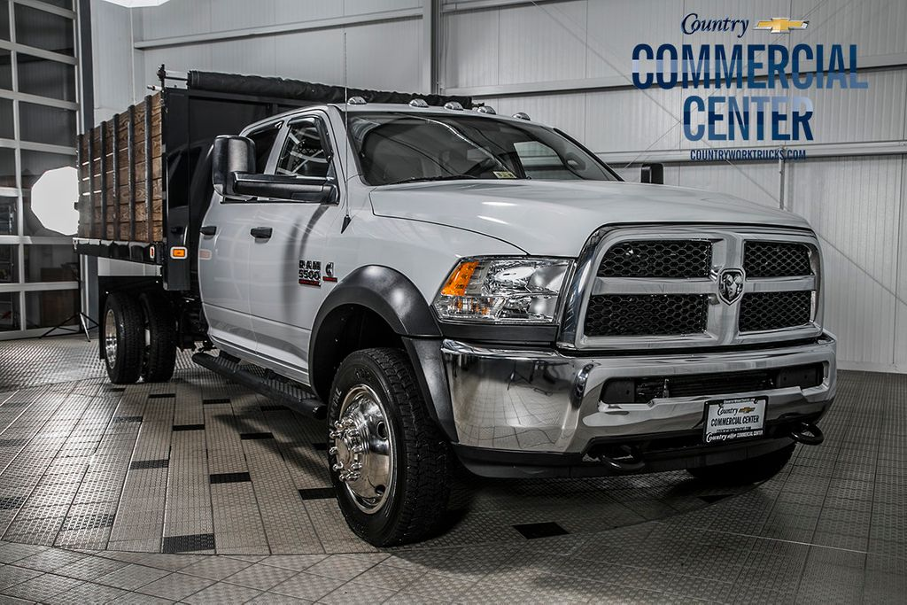 Dodge Ram 5500 >> 2016 Used Ram 5500 5500 Crew Cab 4x4 6 7 Cummins Aisin 12