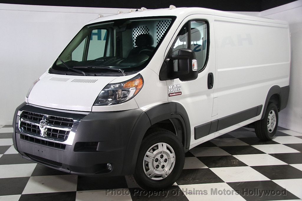 2016 used ram promaster cargo van 1500 low roof 136 wb at haims motors serving fort lauderdale. Black Bedroom Furniture Sets. Home Design Ideas