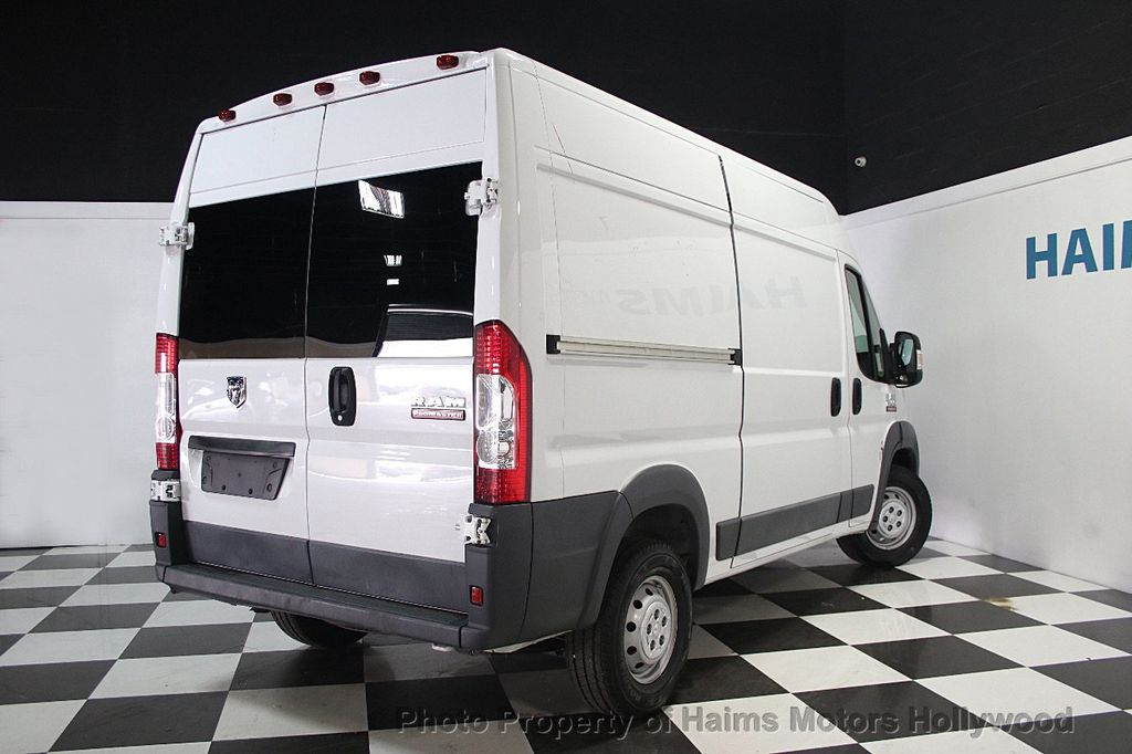 2016 Used Ram Promaster Cargo Van 2500 High Roof 136 Quot Wb