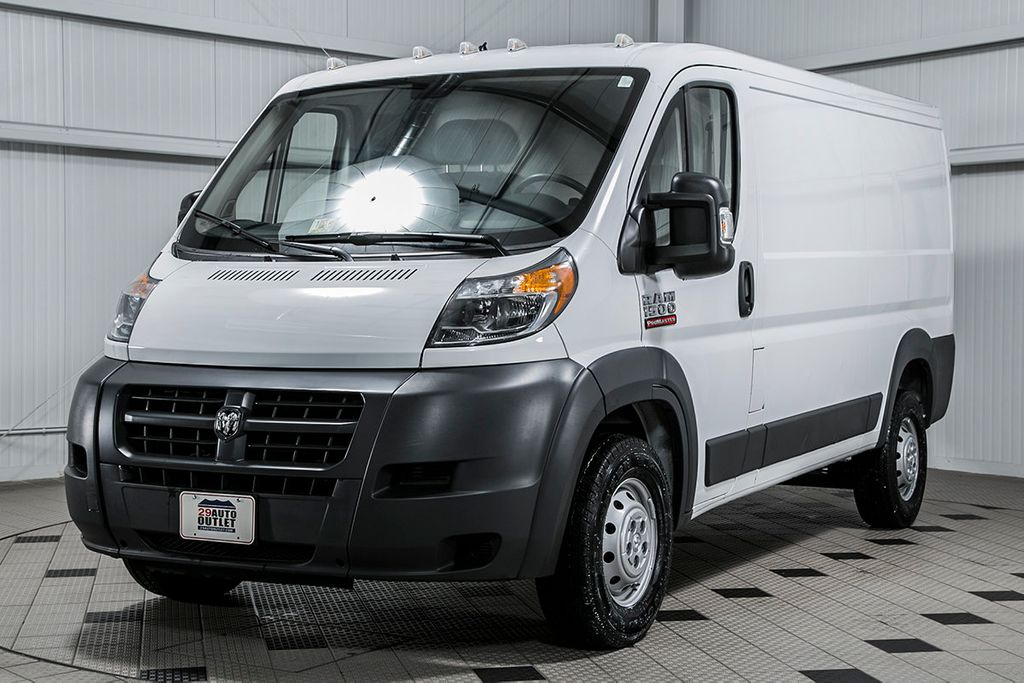 2016 used ram promaster cargo van promaster at country commercial center serving warrenton va. Black Bedroom Furniture Sets. Home Design Ideas