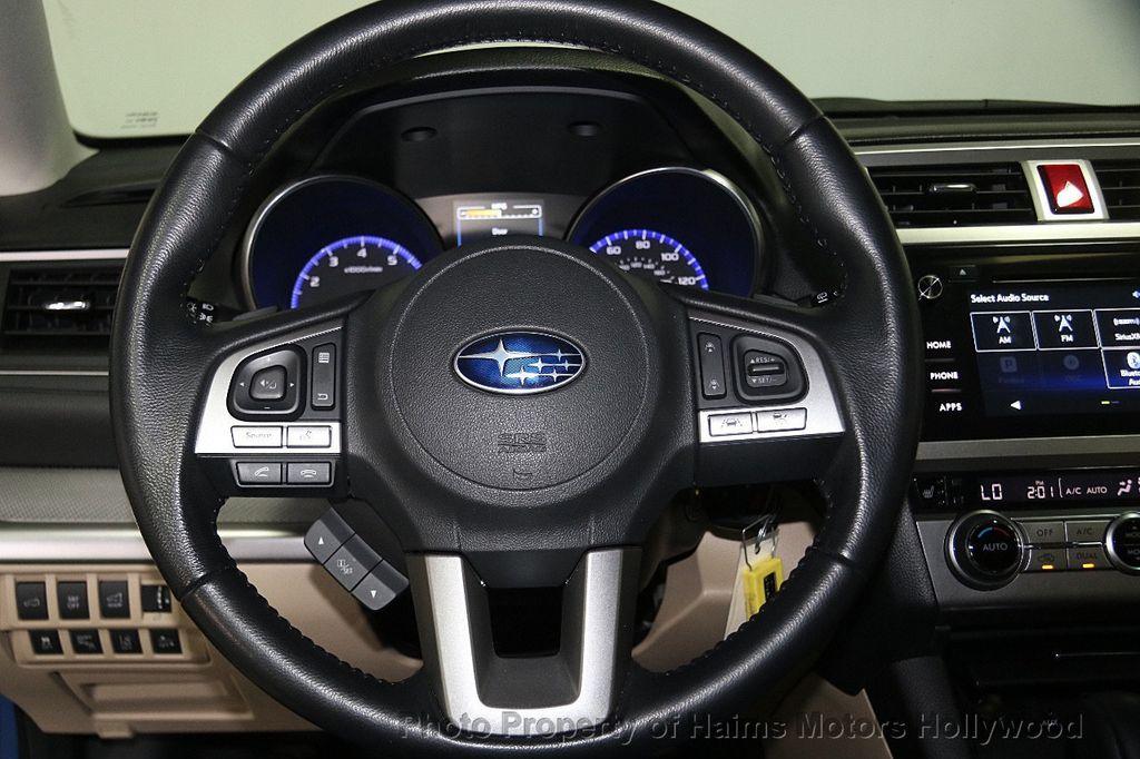 2016 Subaru Outback 4dr Wagon H4 Automatic 2.5i Premium - 17012152 - 28