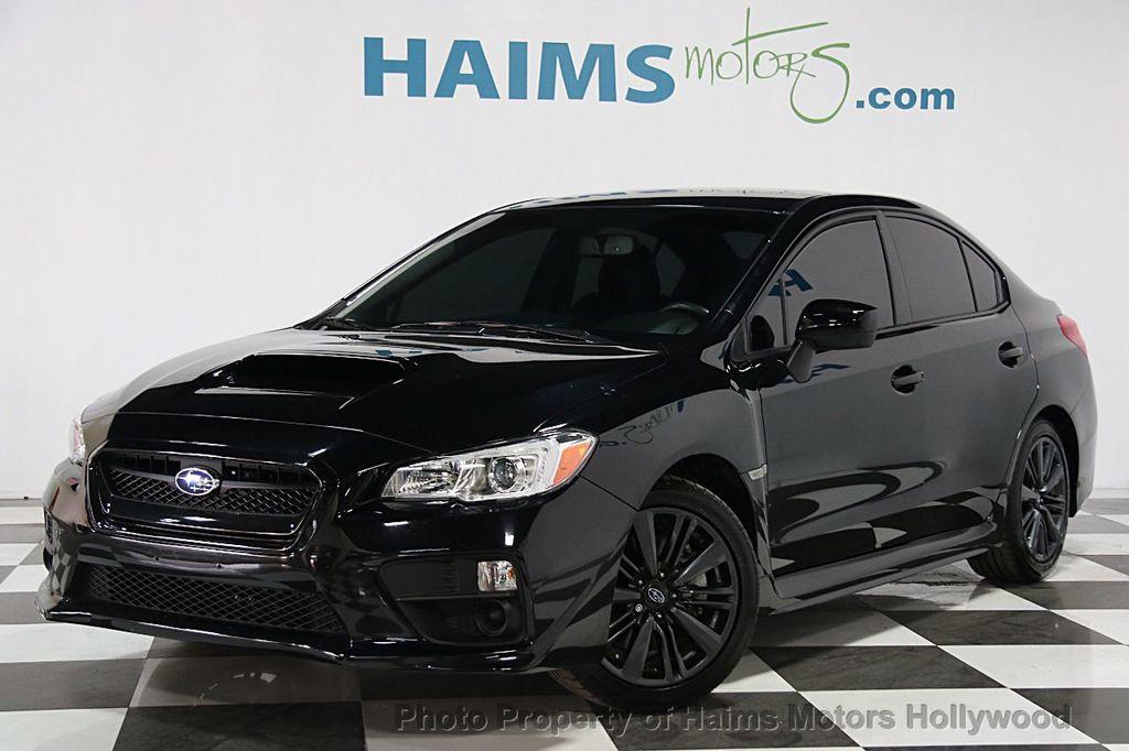 2016 Used Subaru WRX 4dr Sedan Manual at Haims Motors Serving Fort