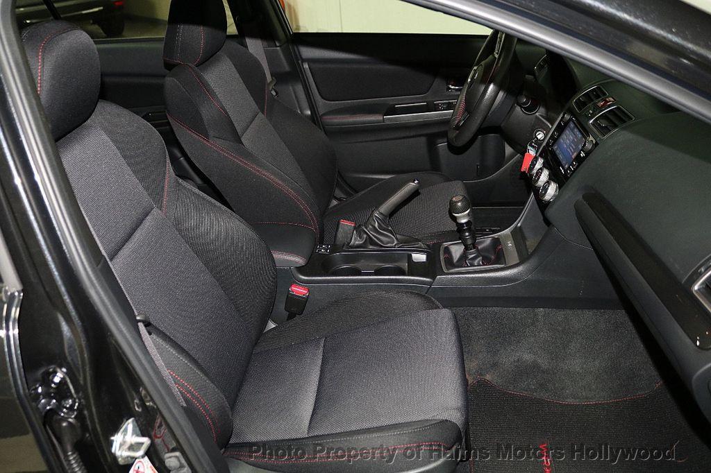 2016 Subaru WRX 4dr Sedan Manual Premium - 18047709 - 14