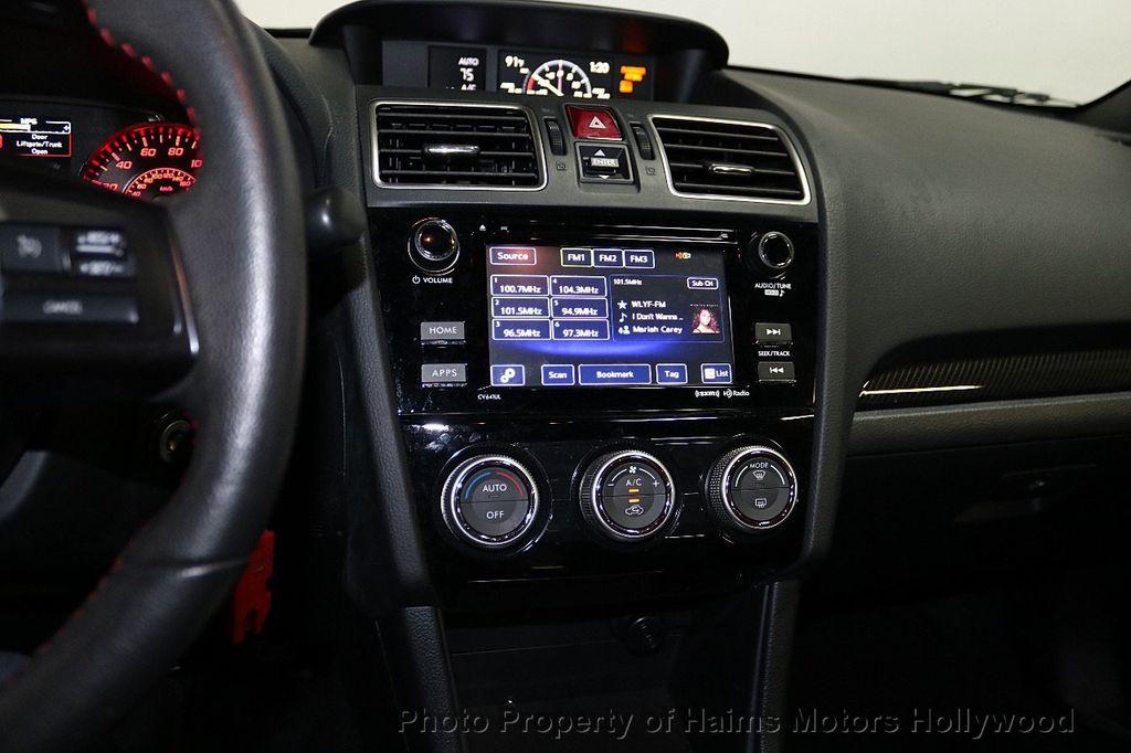 2016 Subaru WRX 4dr Sedan Manual Premium - 18047709 - 20
