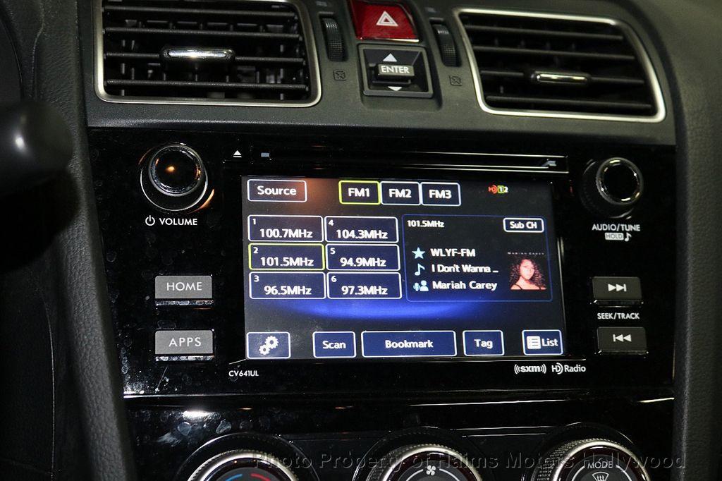 2016 Subaru WRX 4dr Sedan Manual Premium - 18047709 - 21
