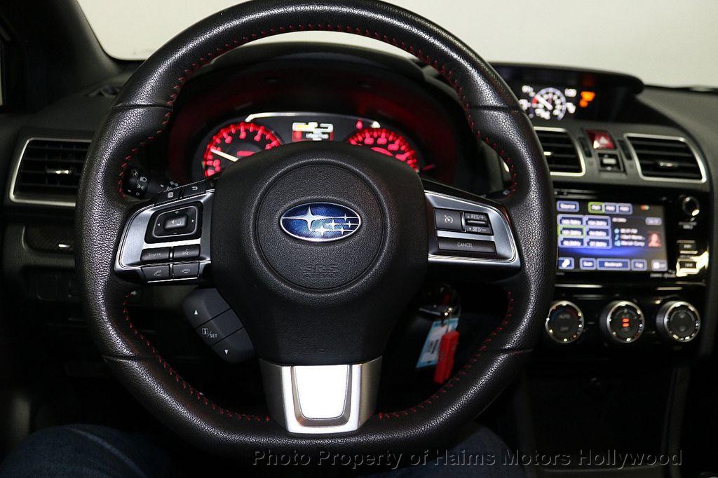 2016 Subaru WRX 4dr Sedan Manual Premium - 18047709 - 28