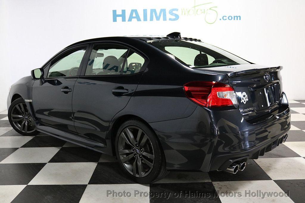 2016 Subaru WRX 4dr Sedan Manual Premium - 18047709 - 4